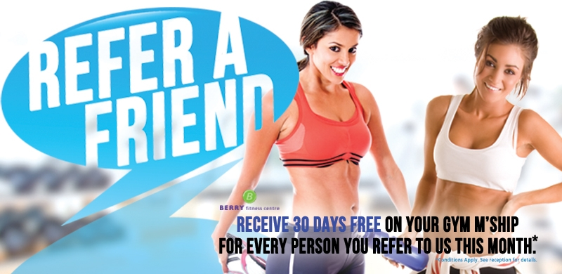 Refer A Friend and SAVE this month!