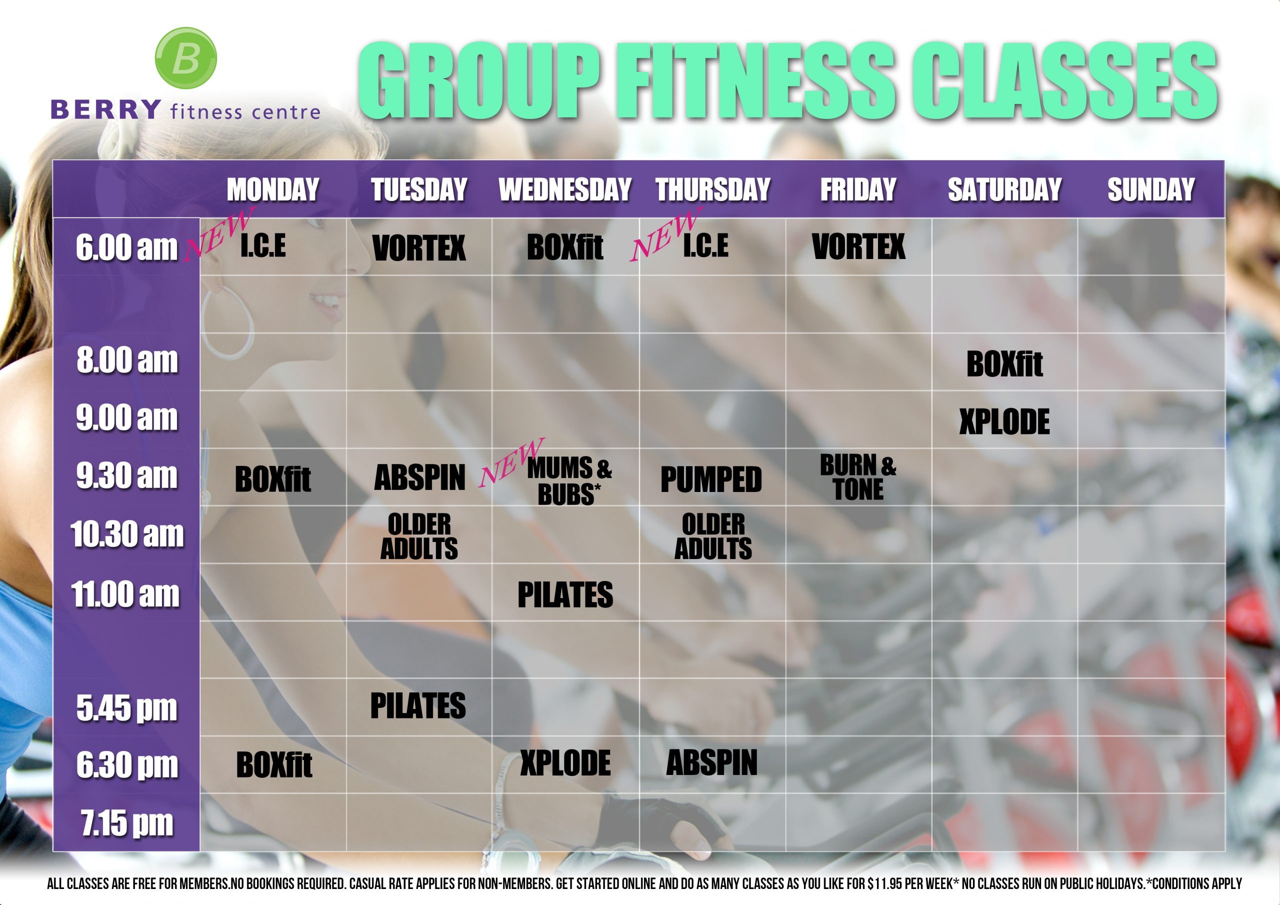 Our secrets out! New timetable release!